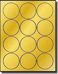 diameter laser  printable gold foil
