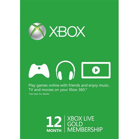 Maybe you would like to learn more about one of these? Xbox Live Gold 12 Month / 1 Year Subscription Card Microsoft DISCONTINUED | eBay