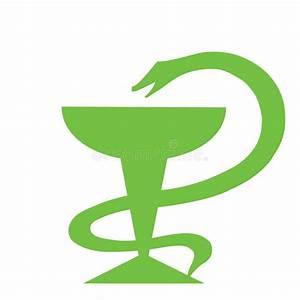 Medicine Snake Symbol Stock Photography - Image: 32299112