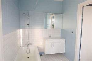 revgercom peinture pour salle de bain carrelage idee With carrelage adhesif salle de bain avec plafond tendu led
