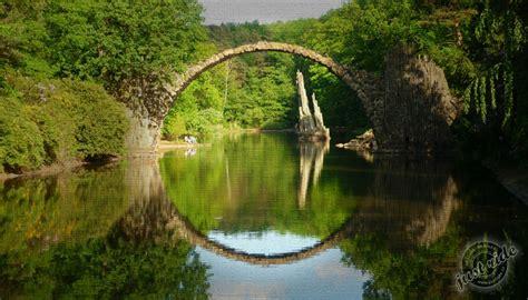 Rakotzbrücke - Ďábelský most | JustRide.cz