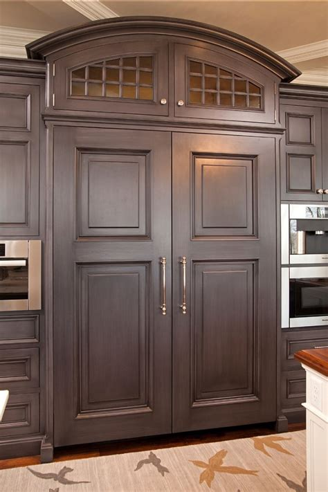 how to make your fridge look like a cabinet dream family home home bunch interior design ideas