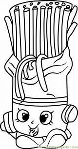 Shopkins Fasta Shopkin Coloringpages101 sketch template