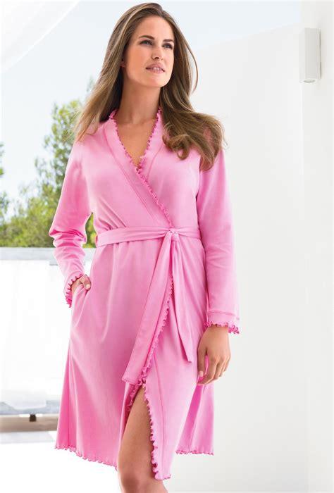 chambre de femme robe de chambre en coton pour femme