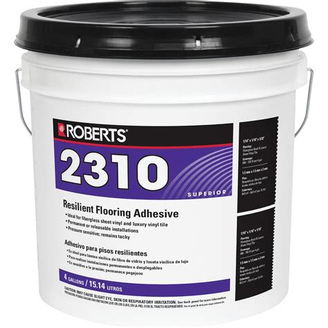 Roberts 4 Gal Wood And Bamboo Flooring Urethane Adhesive
