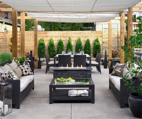 luxury patio design