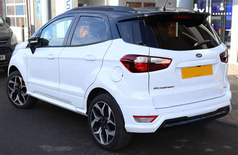 2018 Ford Ecosport Configurations by File 2018 Ford Ecosport St Line Facelift 1 0 Rear Jpg