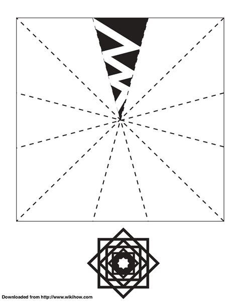 Snowflake Template Printable Snowflake Template Wikihow Ideas