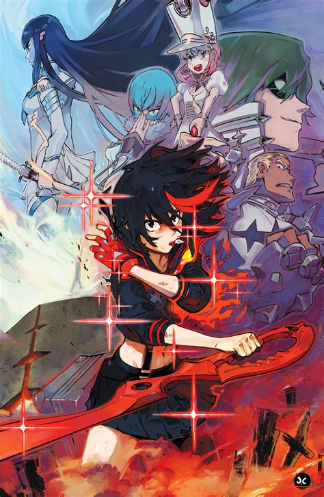 kill la kill ryuko and satsuki kill la kill by overlordjc on deviantart