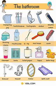 Bathroom vocabulary in english personal hygiene english for British word for bathroom