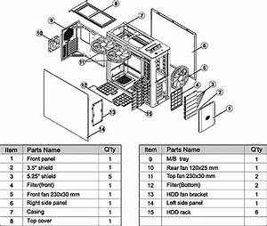6 best images of computer tower parts diagram computer With cpu parts diagram