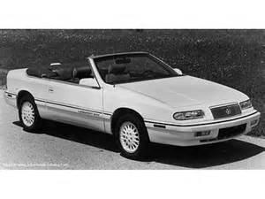 Chrysler Le Baron Cabriolet : 1993 chrysler le baron convertible gtc 3 0l v 6 since mid year 1992 for north america u s ~ Medecine-chirurgie-esthetiques.com Avis de Voitures