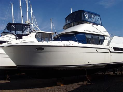 Boat Brokers Kent Island by 1991 Carver 33 Aft Cabin Power Boat For Sale Www