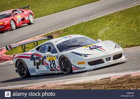 2018 Ferrari 458 Challenge With Driver Paul Bailey At The