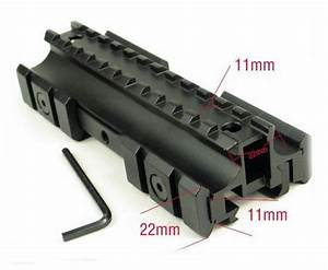 Scope mount base side mm rail see hsmal