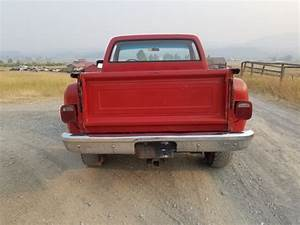 1980 Chevrolet K10 4x4 Step Side Short Bed Chevy Square