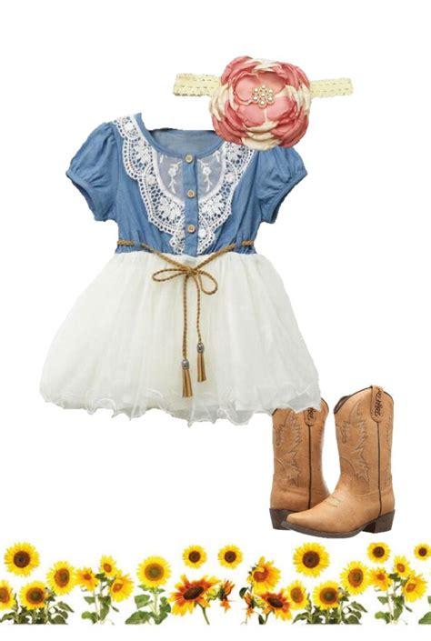 cowgirl toddler dress farm birthday party ideas girl