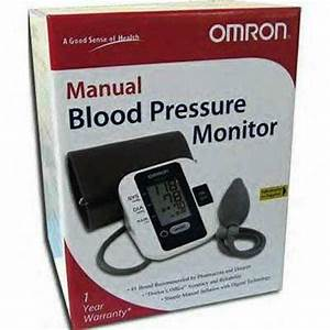 Omron Manual Blood Pressure Monitor