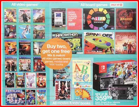 Target Bringing Back Bg Sale This Weekend-nintendo