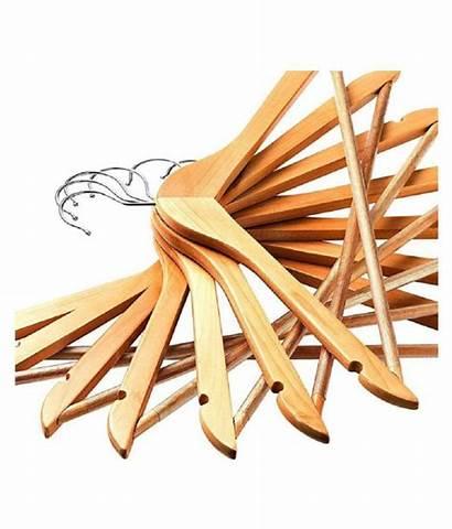 Wooden Solid Multi Functional Hangers Slip Non