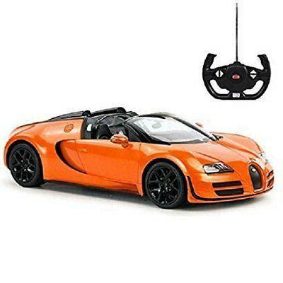 1:14 bugatti veyron grand rc car sport vitesse remote control black & orange new. Radio Remote Control 1/14 Bugatti Veyron 16.4 Grand