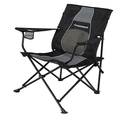 strongback folding c chair with superior back