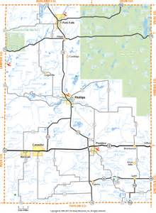 Price County Wisconsin Map