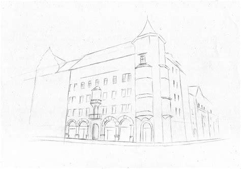 Haus Zeichnen Lernen by H 228 Usserfassade Haus Geb 228 Ude Altstadt Zeichnen