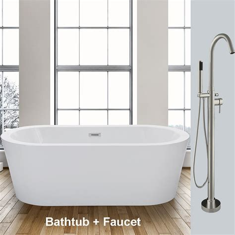 Freestand Bathtub by Woodbridge 59 Freestanding Bathtub B 0012 With Free