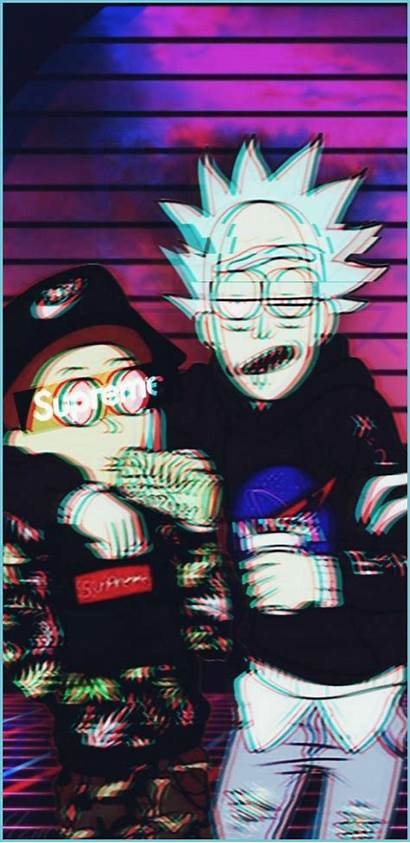 Morty Rick Wallpapers Cool Dope Aesthetic Trippy