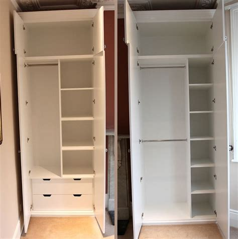 Wardrobe With Shelves Only by 2019 Best Of Single Wardrobe With Drawers And Shelves