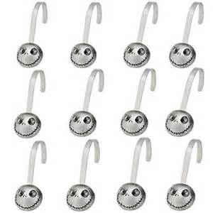 jack skellington 12 piece shower hook set from our