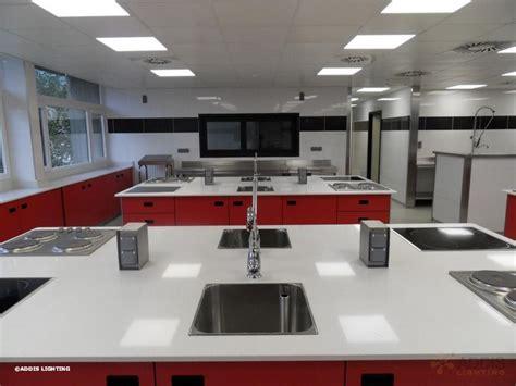 eclairage de cuisine eclairage led d 39 une école de cuisine addis lighting