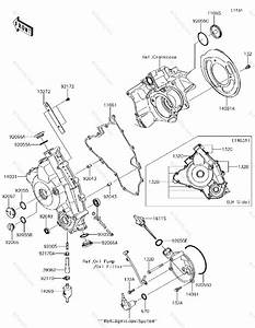 Kawasaki Atv 2017 Oem Parts Diagram For Engine Cover S