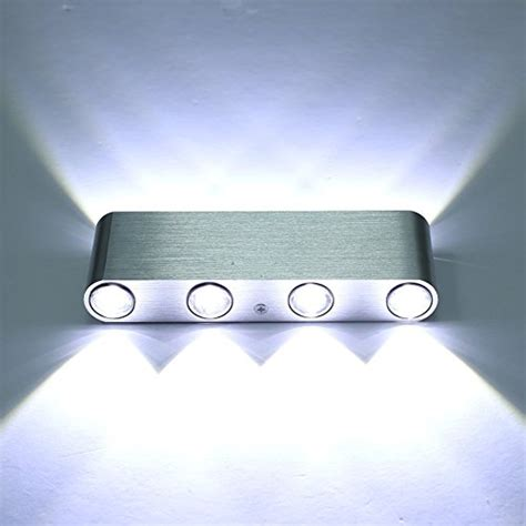 cmyk 174 8w white led wall sconces light fixture