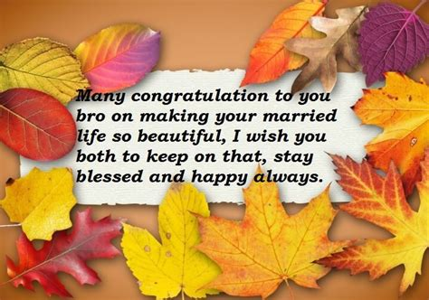 wedding anniversary wishes quotes  brother  wishes