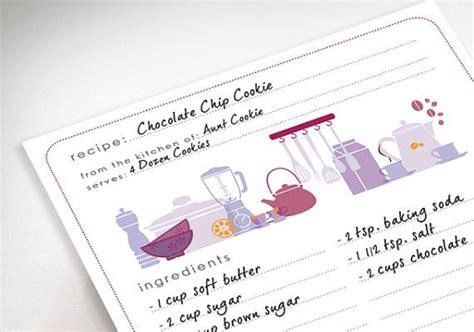 livre recette cuisine fiches de recettes imprimables modèles de cuisine par