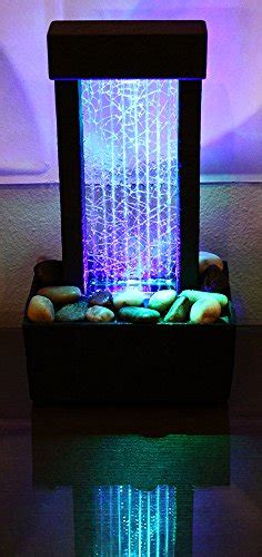 natures mark cracked glass color changing led relaxation