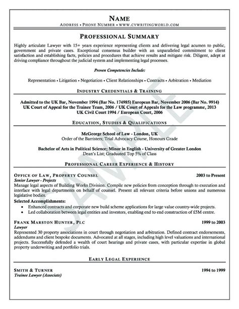 professional cv writing sles letters free sle letters