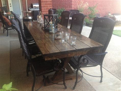 outdoor farmhouse dining table 8ft outdoor trestle table farmhouse dining tables