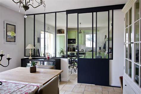 verriere interieure cuisine verrière intérieure la nouvelle tendance déco travaux com