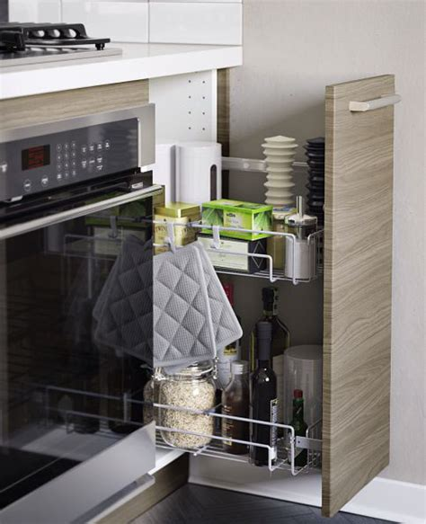 meubles muraux cuisine accessoires rangement cuisine ikea