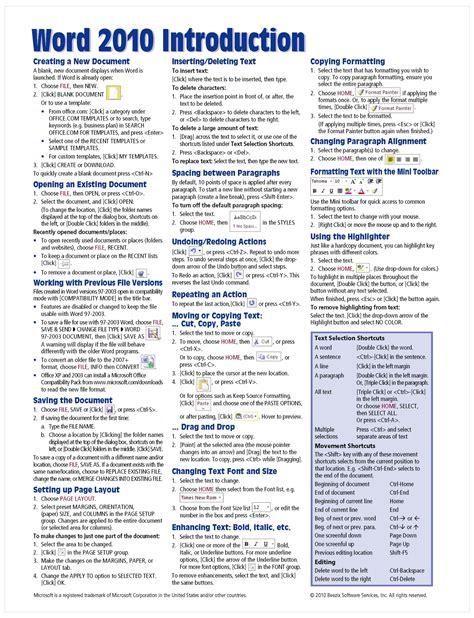Cheat Sheet Template Word - Costumepartyrun