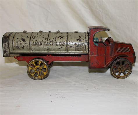 bargain johns antiques cast iron mack tanker truck