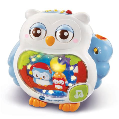 vtech baby sleepy owl nightlight toys zavvi