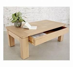 Table Basse Stockholm : table basse ch ne massif stockholm naturel 120cm 7588 ~ Teatrodelosmanantiales.com Idées de Décoration