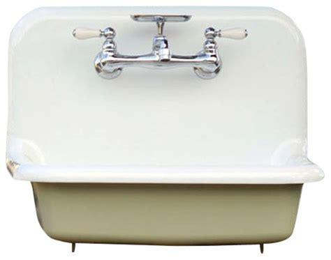 vintage cast iron bathroom sink shop houzz re antique style high back farm sink cast