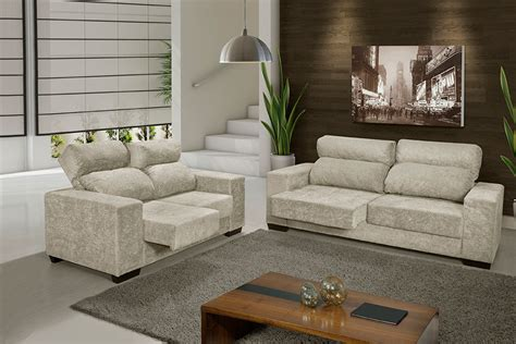 sofa tecnomoveis manama retratil reclinavel estofado sevilha 2 e 3 lojas inovar