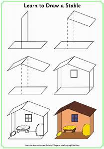 Learn To Draw A Stable