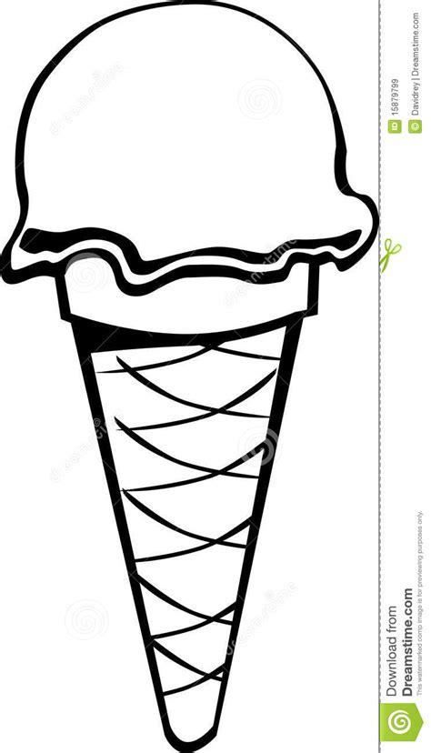 black  white icecream royalty  stock images image